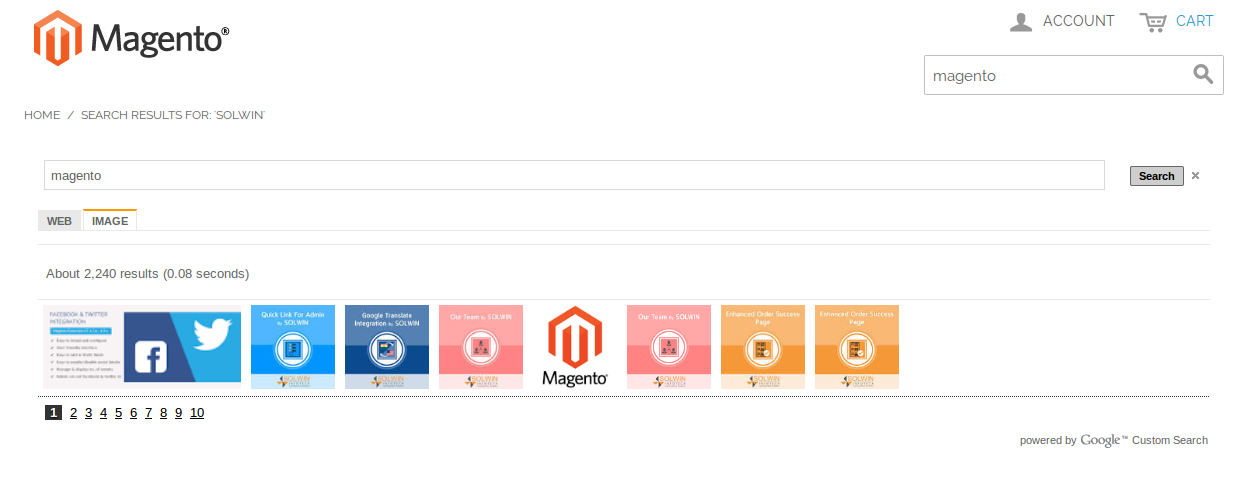 Google Custom Search Integration By Solwin | Documentation