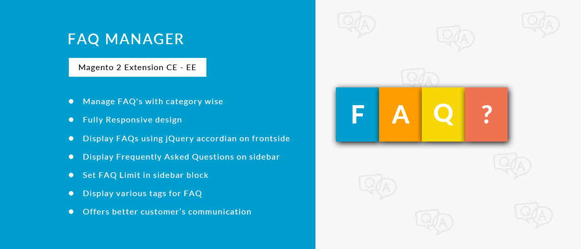 FAQ Manager - Magento 2 Extension | Documentation