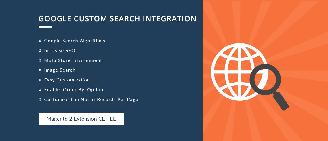 Google Custom Search Integration - Magento 2 Extension | Documentation