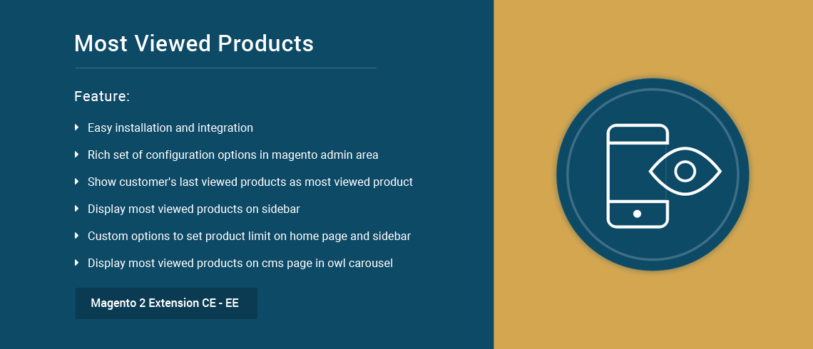 Most Viewed Products – Magento 2 Extension | Documentation