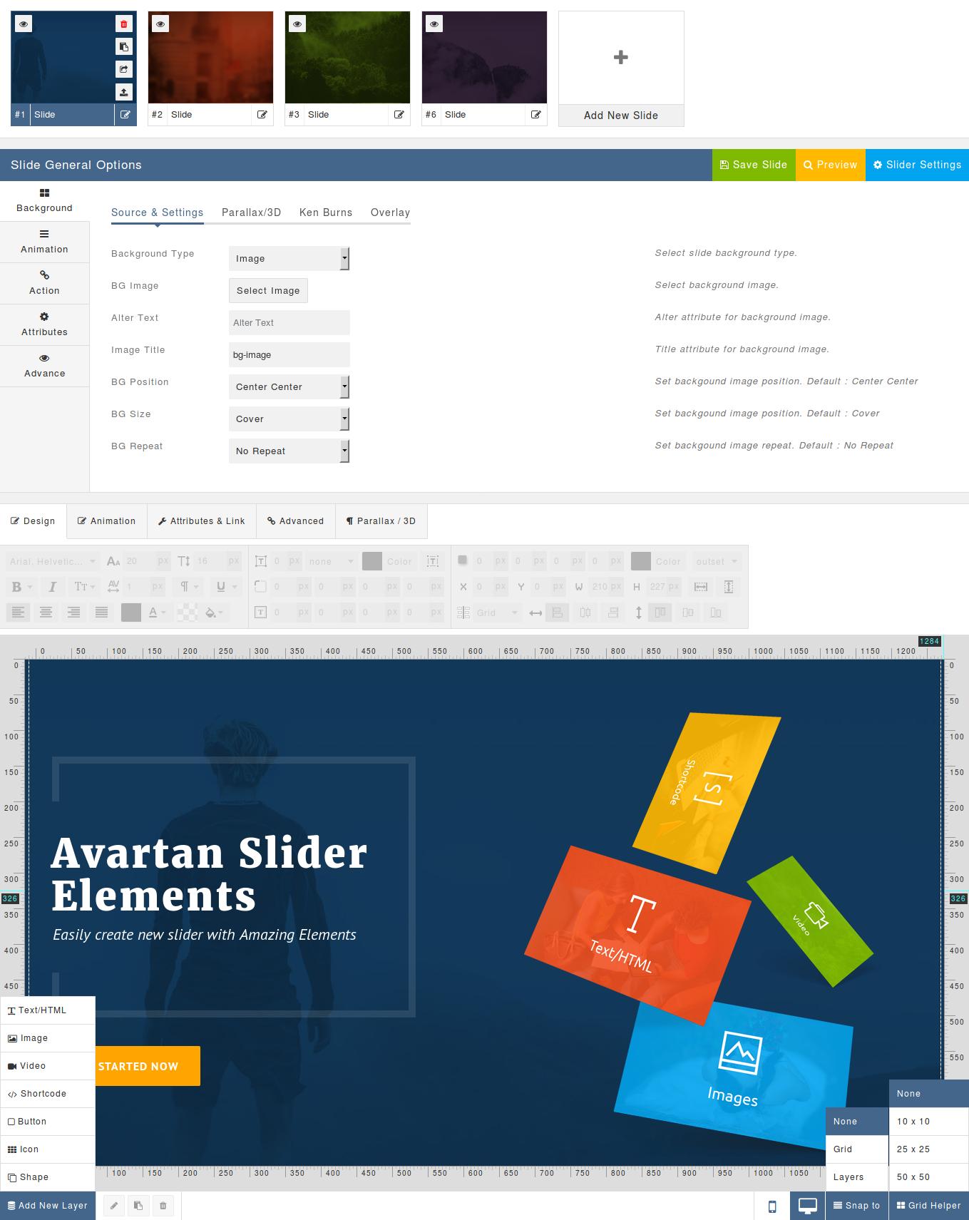 zillah wordpress theme how to add slider