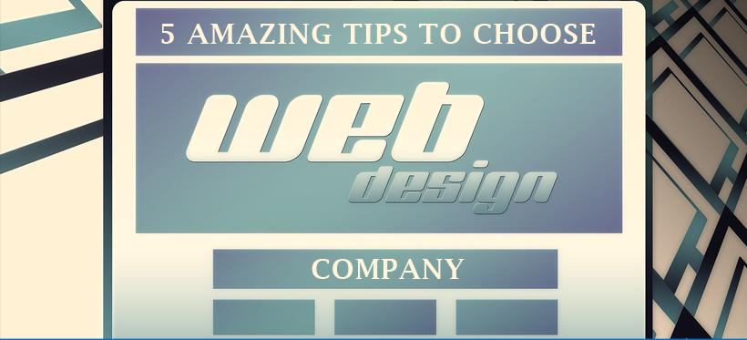 Web Design tip to choose