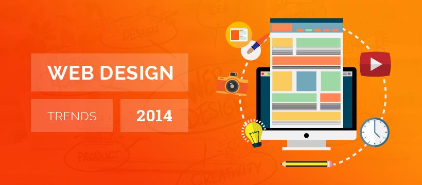 Web Design Trends in 2014
