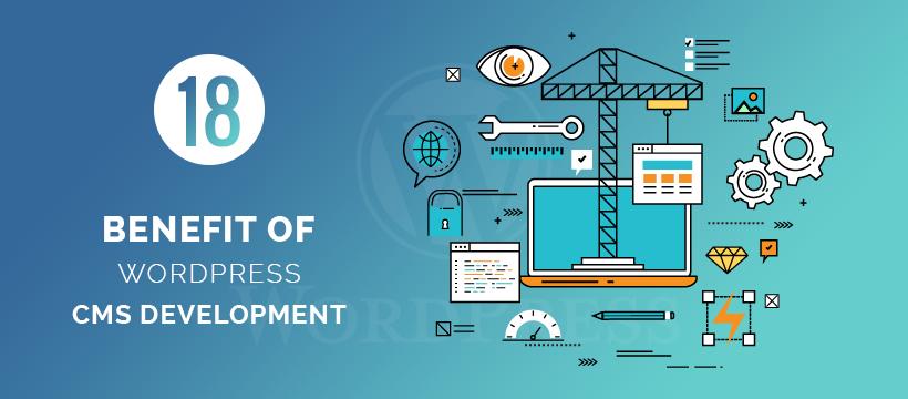 benefit of wordpress cms development