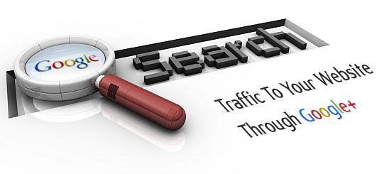 Traffic to Google Plus