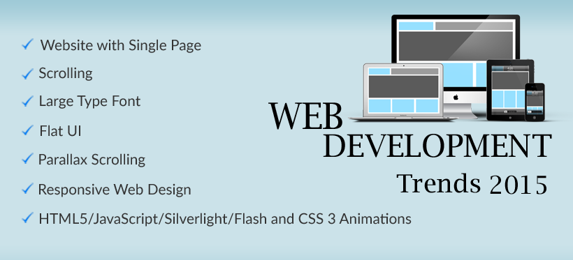 Web Development Trends 2015