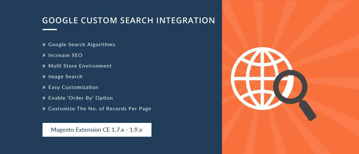 Google Custom Search Integration - Magento Extension
