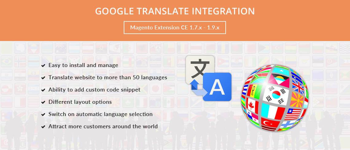Google Translate Integration - Magento Extension