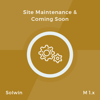 Site Maintenance - Extension for Magento