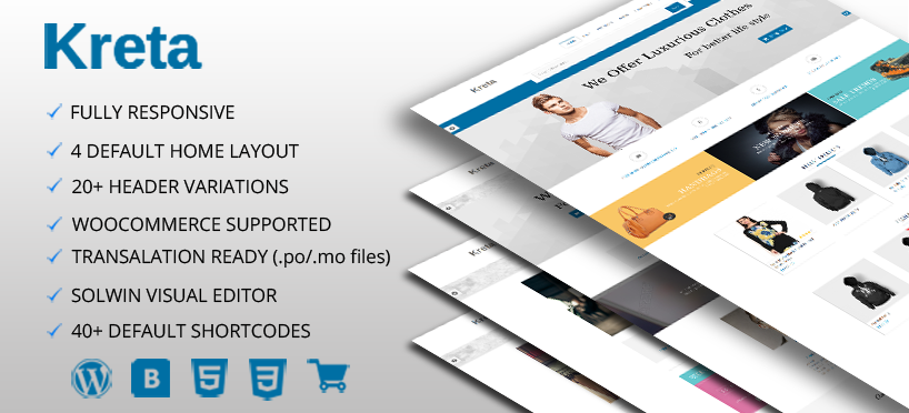Kreta Premium WordPress Theme