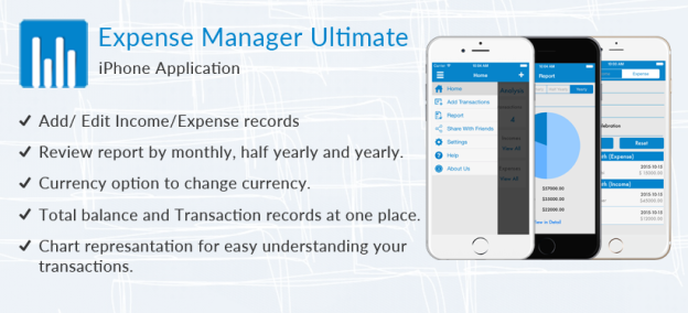 Expense Manager Ultimate - Free iOs App