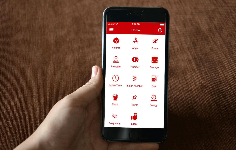 Unit Converter Advance - iPhone App