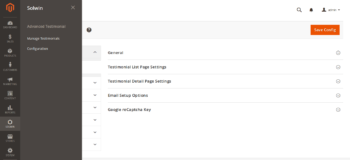 Advanced Testimonial Magento 2 Extension – Configuration Settings