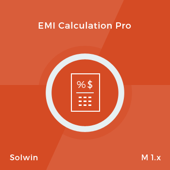 EMI Calculation Pro - Extension for Magento