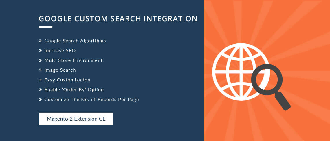 Google Custom Search Integration- Magento 2 Extension