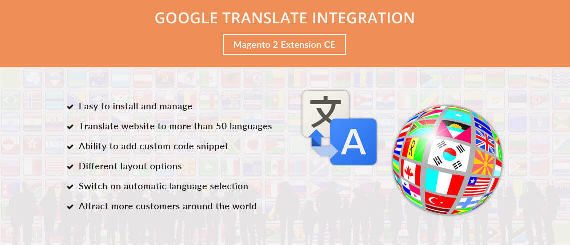 Google Translate Integration - Magento 2 Extension