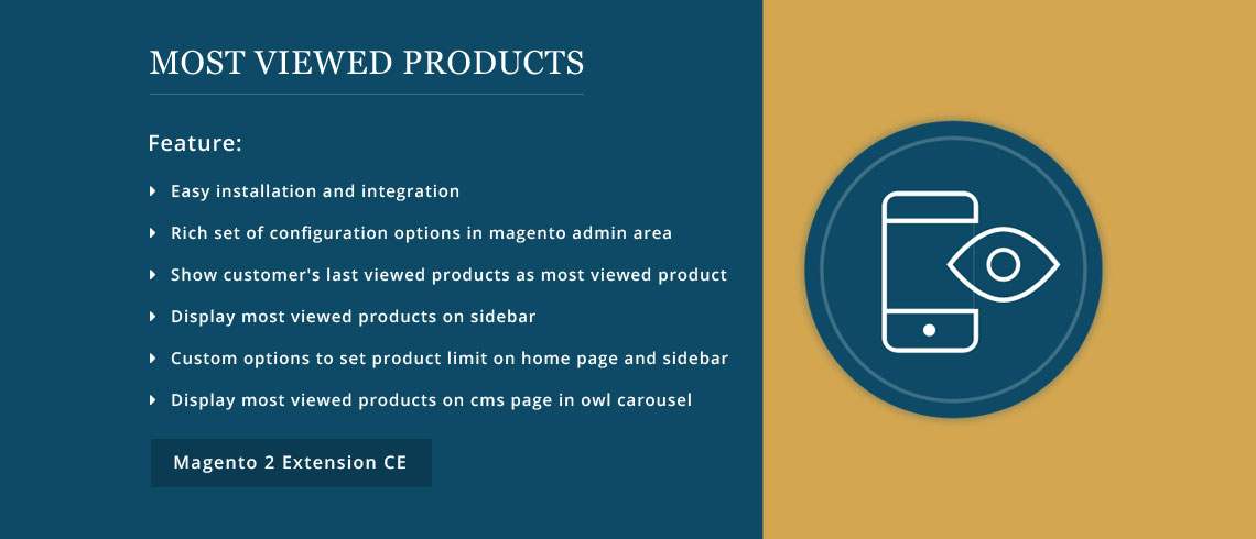Most Viewed Products - Magento 2 Extension