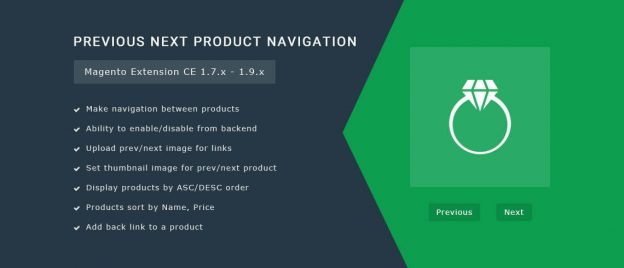 Previous Next Product Navigation - Magento Extension