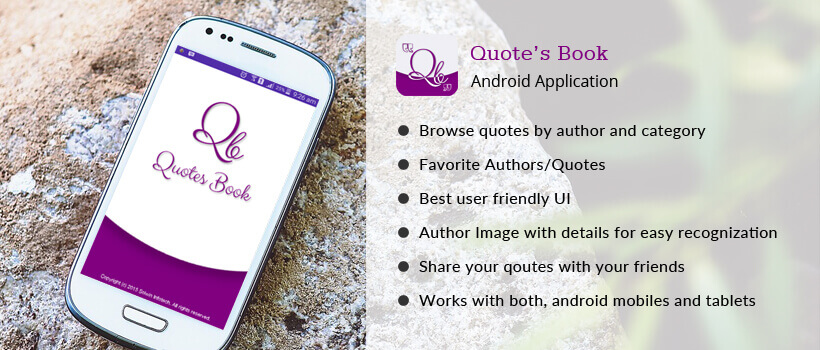 Quote Book Android Application