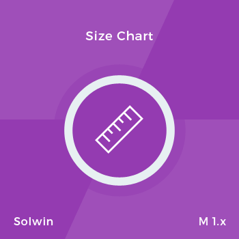Size Chart - Extension for Magento
