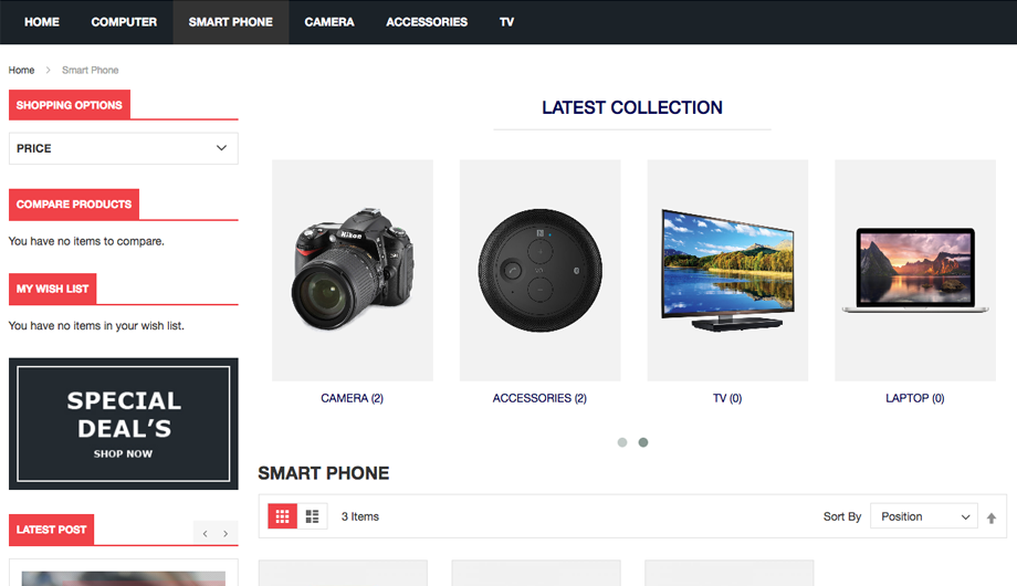 Advanced Category Slider - Magento 2 Extesion - Category Page