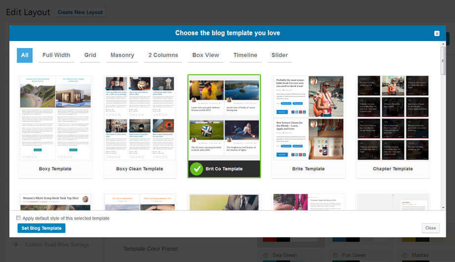 Blog designer pro best responsive wordpress plugin for Pro photo blog templates