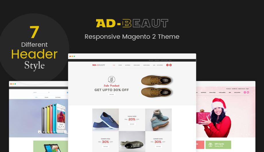Ad-Beaut Multipurpose Responsive Magento 2 Theme