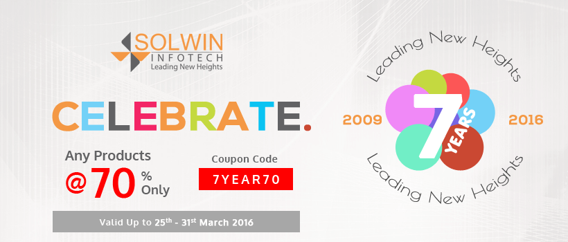 Solwin Infotech - 7th Anniversary