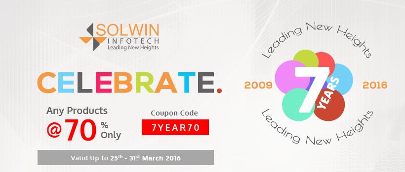Solwin Infotech - 7th Anniversary