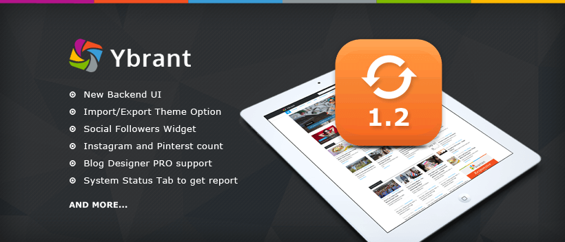 Ybrant v1.2 - News and Magazine WordPress Theme