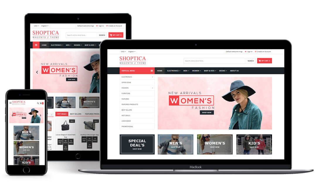 Shoptica Premium Responsive Magento 2 Theme