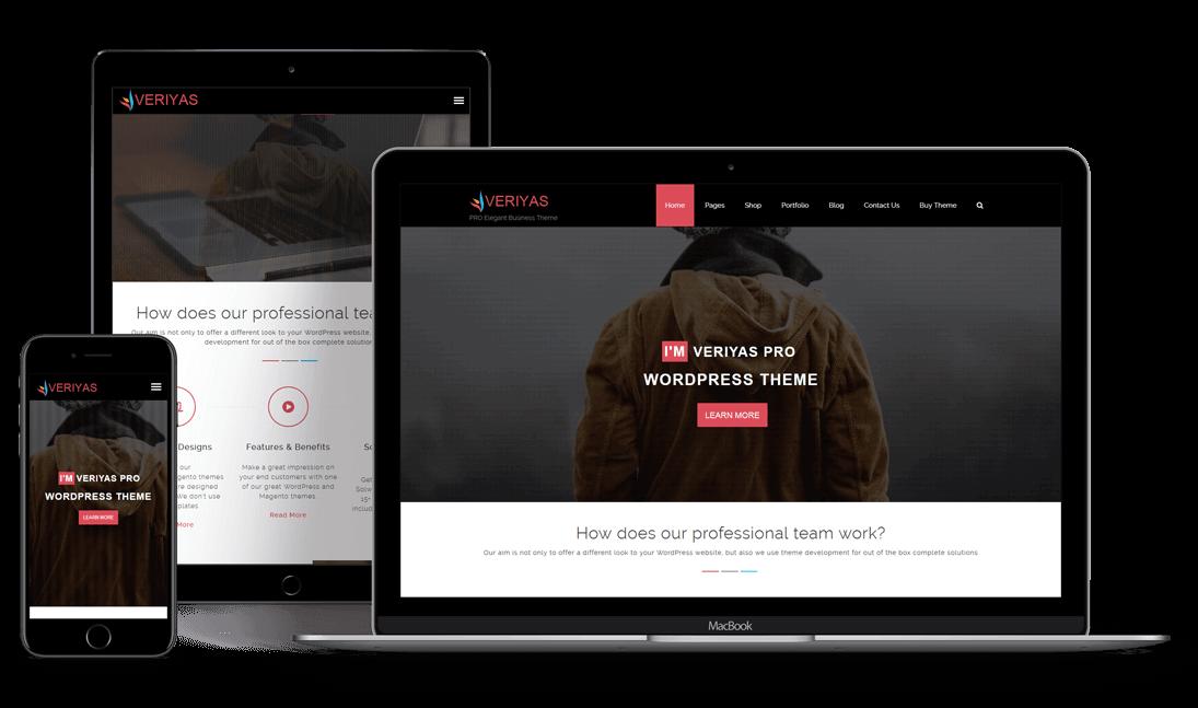 Veriyas PRO - Premium WordPress Theme