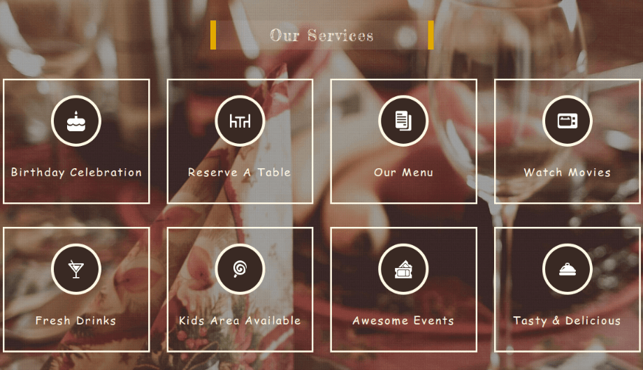 FoodFork - Our Services