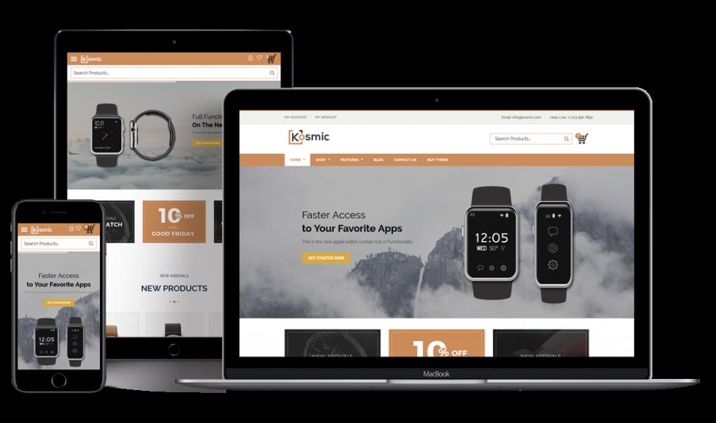 Kosmic Multipurpose Responsive WordPress Theme