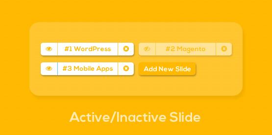 Active/Inactive Slide