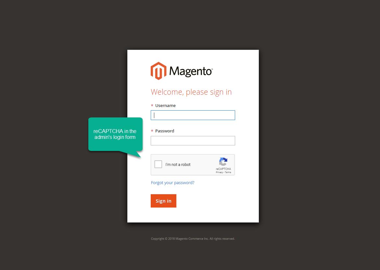 Google Recaptcha - Magento 2 extension