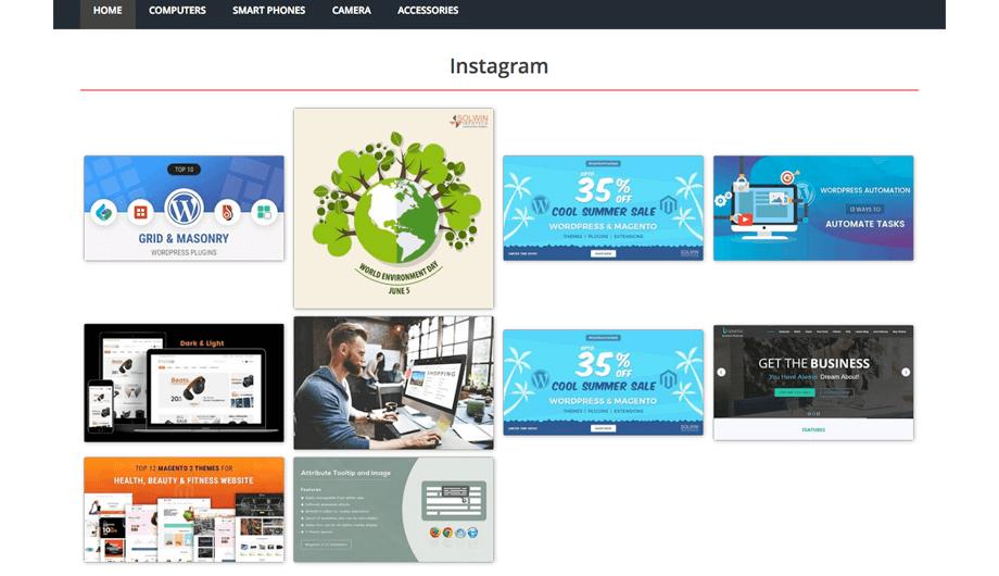 Instagram Widget - Magento 2 Extension
