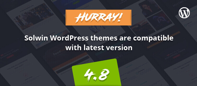 WordPress v4.8 Themes
