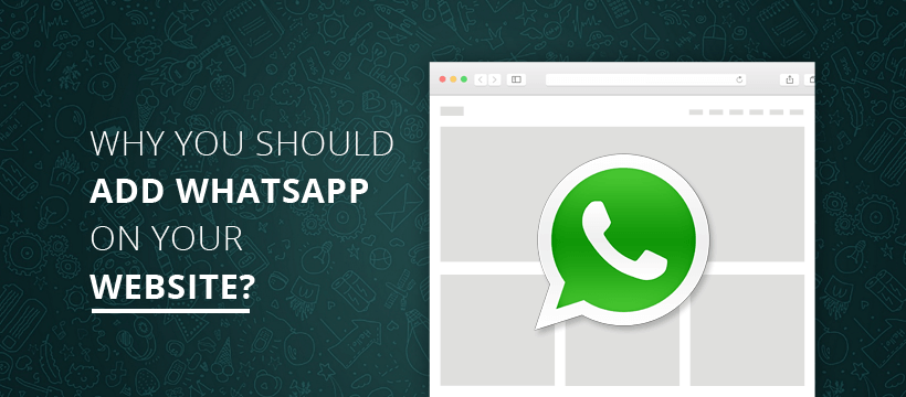 WhatsApp On Your Website