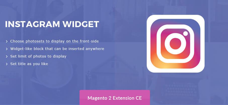 Instagram Widget – Magento 2 Instagram Integration Extension