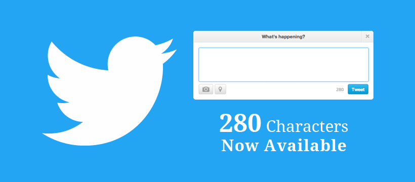 characters tweets available