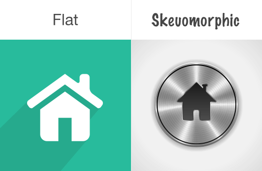 Skeuomorphic