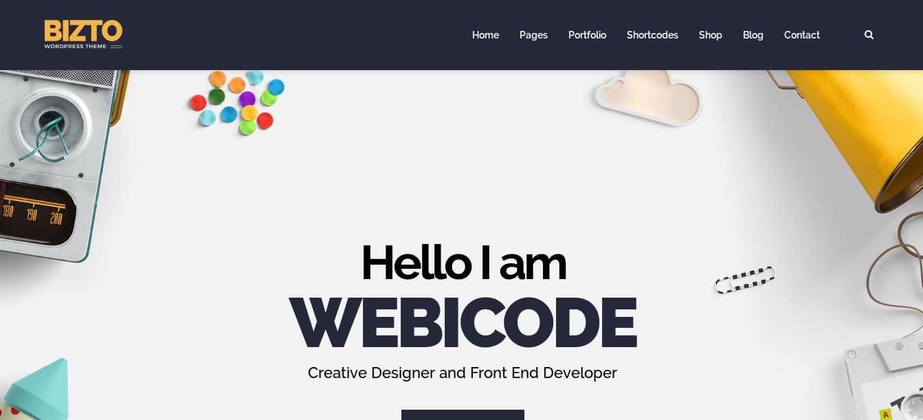 BizTo - MultiPurpose WordPress Theme