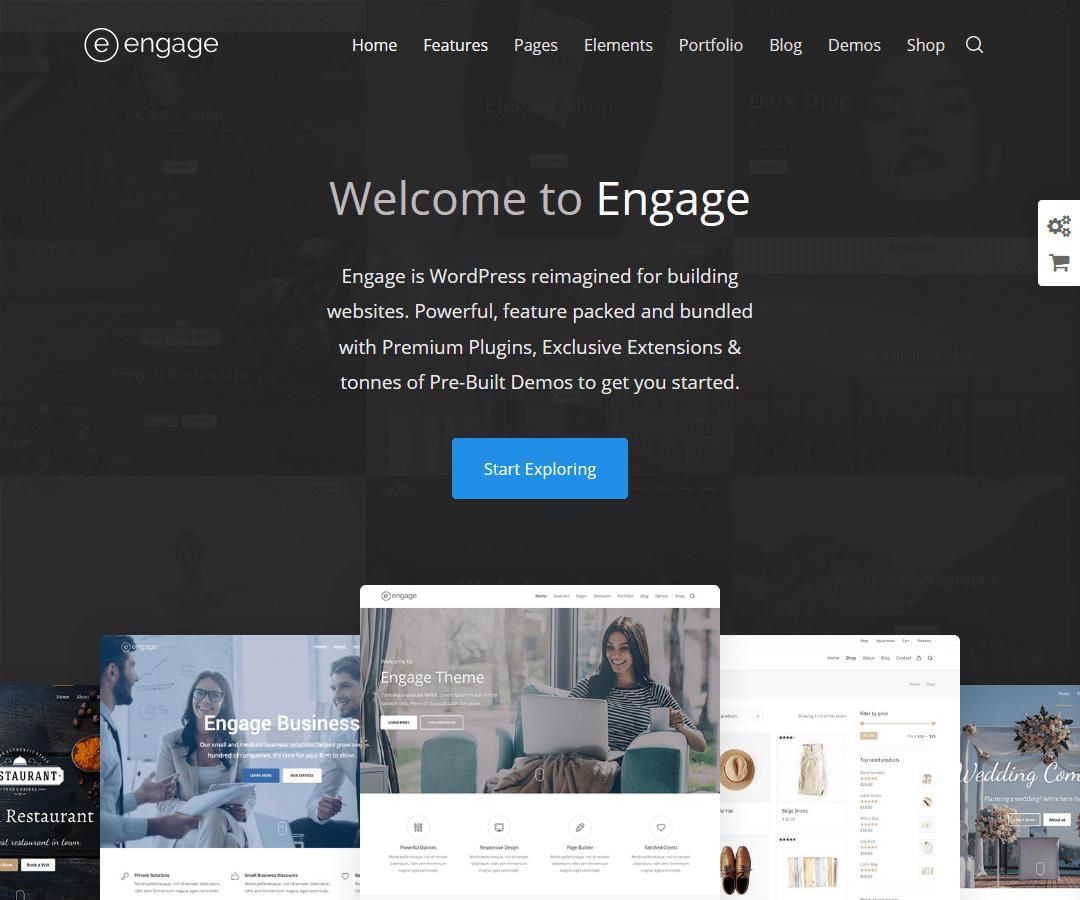 Engage - WordPress theme
