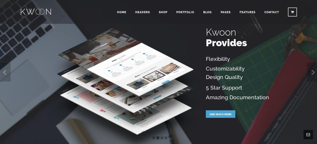 Kwoon WordPress Theme