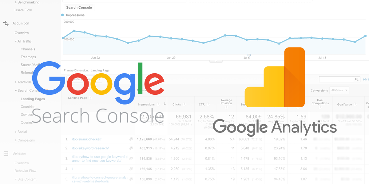 Google Search Console And Analytics