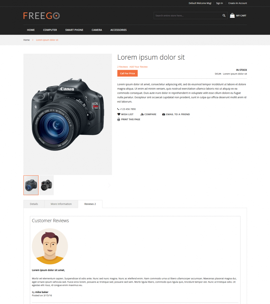 Product Reviews - Magento 2 Extension