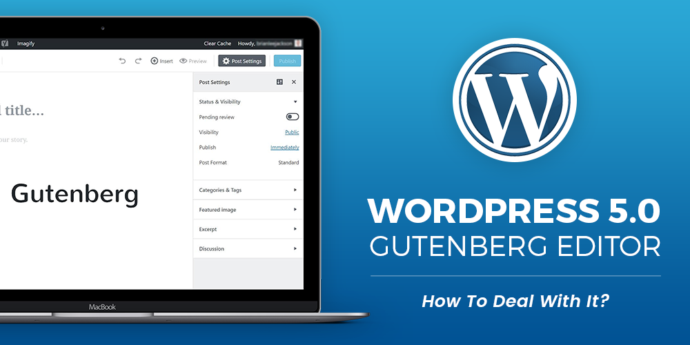 WordPress 5.0 - Gutenberg Editor