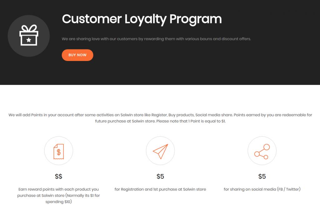 Provide Loyalty Programs
