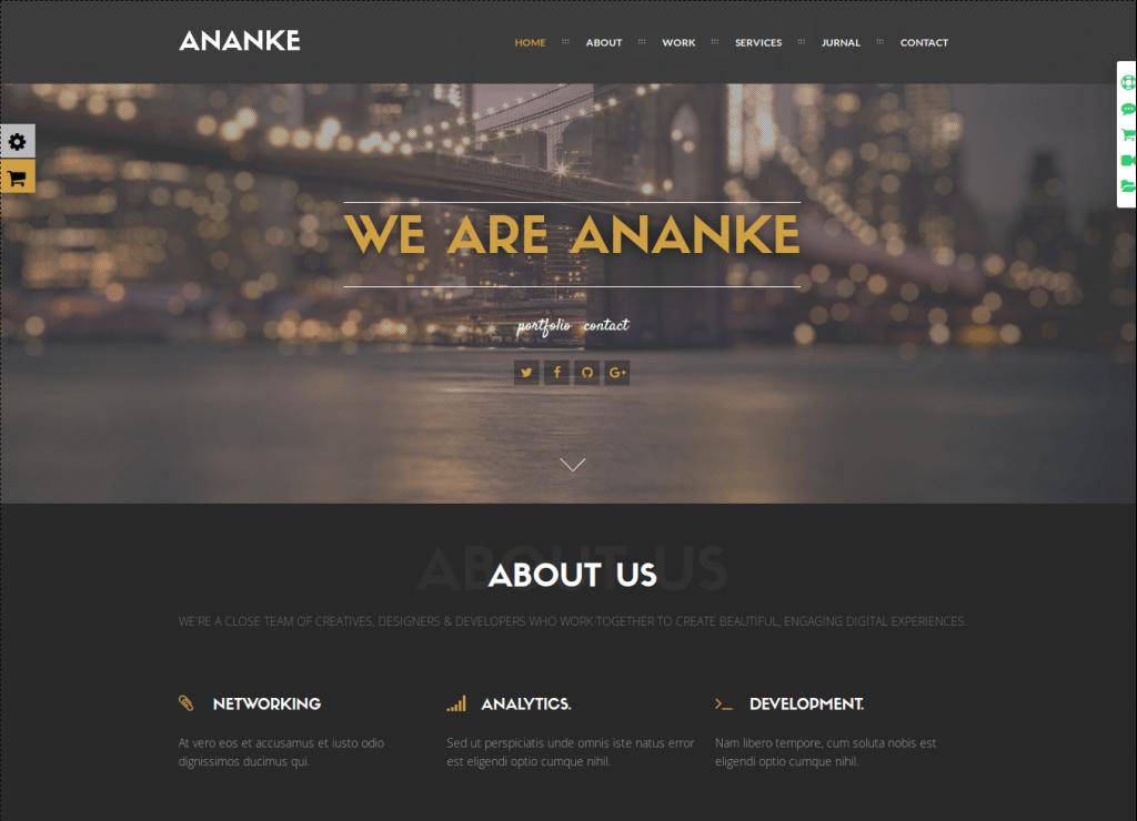 Ananke WordPress Theme